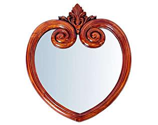 Купить зеркало МИК Мебель MK-MRR01 MK-2475-NM Итальянский орех