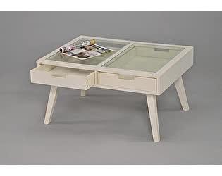 Купить стол МИК Мебель Журнальный MK-6311-WT Белый