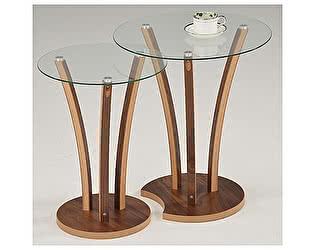 Купить стол МИК Мебель Набор из 2-х столиков MK-6332 Орех
