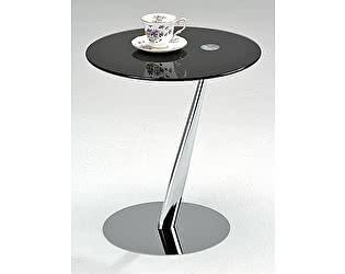 Купить стол МИК Мебель Приставной MK-6328-BK Хром/черный