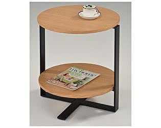Купить стол МИК Мебель чайный MK-6327 Дуб/черный