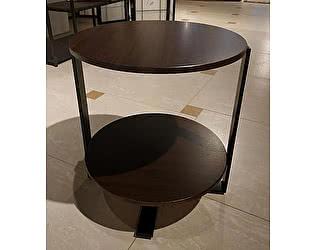 Купить стол МИК Мебель чайный MK-6327 Темный орех/черный