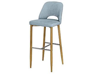 Купить стул МИК Мебель Стул барный MC08B MK-5613-BL Синий