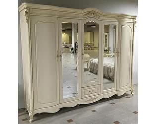 Купить шкаф МИК Мебель Милано 5-дверный MK-8007-IV Слоновая кость
