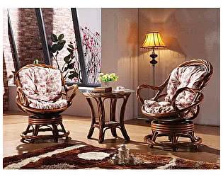 Купить комплект садовой мебели МИК Мебель MK-3462 Медовый дуб