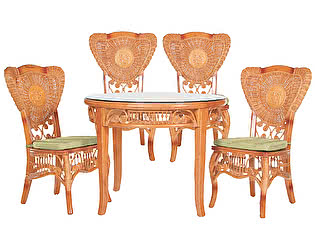 Купить комплект садовой мебели МИК Мебель MK-3450 Медовый дуб
