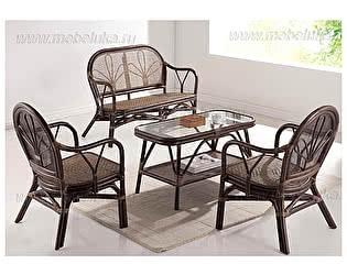 Купить комплект садовой мебели МИК Мебель Yokohaina МК-6112-LB Коричневый