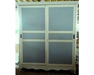 Купить шкаф МИК Мебель Florence MK-5025-AW Молочный/голубой