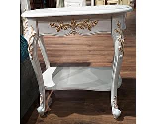 Купить тумбу МИК Мебель Shantal MK-5011-WG Белый с золотом