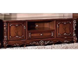 Купить тумбу МИК Мебель Глория FF6093 MK-2717-BG Темный орех с золотом