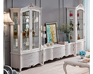Купить шкаф МИК Мебель Maris 1-дверная левая MK-5408L-BO Беленый дуб