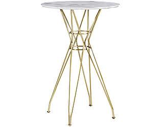 Купить стол МИК Мебель MK-5520-MG Белый/Золотой