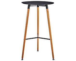 Купить стол МИК Мебель MK-6700-BTB Черный/Под дерево