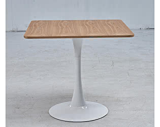 Купить стол МИК Мебель MK-7016-WD Под дерево/Белый