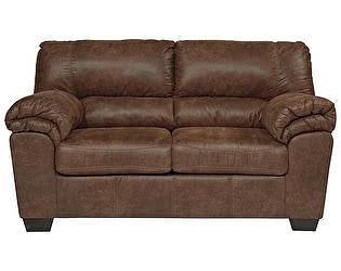 Купить диван МИК Мебель 2-х местный Bladen 1200035 Коричневый