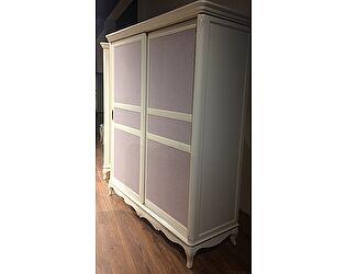 Купить шкаф МИК Мебель Florence MK-5024-AW Молочный/розовый