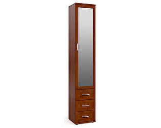 Купить шкаф Мебельный Двор ШК-6А с 3-мя ящиками плоский с зеркалом