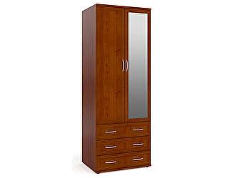 Купить шкаф Мебельный Двор ШК-3 с 3-мя ящиками с зеркалом (одно зеркало)