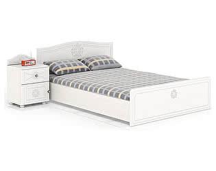 Купить кровать Мебельный Двор Онега КР-1400 + ТП-1 с тумбой