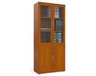 Купить шкаф Мебельный Двор С-МД-2-03 шкаф для книг со стеклом