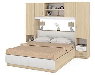 Купить спальню Mobi Линда кровать1600 314+313-160+301-160+303-160+314
