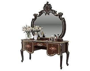 Купить стол Мэри-Мебель Шейх СШ-05 + зеркало СШ-06
