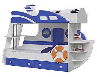 Купить кровать Мэри-Мебель Парус Яхта-2 двухъярусная