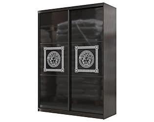 Купить шкаф Мэри-Мебель Мэри Премиум 1600 2-х дверный № 11 (стекло лакобель с фотопечатью)