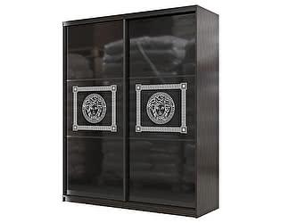 Купить шкаф Мэри-Мебель Мэри Премиум 1800 2-х дверный № 11 (стекло лакобель с фотопечатью)