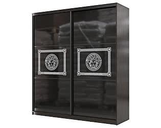 Купить шкаф Мэри-Мебель Мэри Премиум 2000 2-х дверный № 11 (стекло лакобель с фотопечатью)