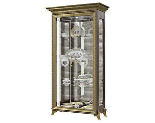 Купить шкаф Мэри-Мебель Версаль ГВ-02 2-дверный (без короны)