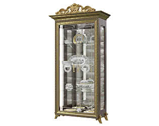 Купить шкаф Мэри-Мебель Версаль ГВ-02К 2-х дверный с короной № 2