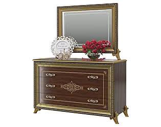 Купить комод Мэри-Мебель Версаль СВ-06 + зеркало СВ-08 без короны