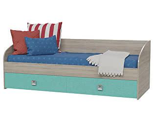Купить кровать Гранд Кволити Сити 4-2001, с двумя ящиками