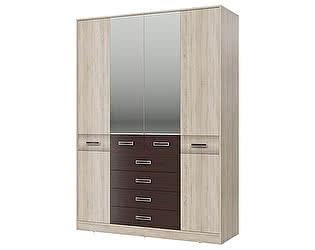 Купить шкаф Гранд Кволити Румба 4-4817, 4-х дверный с ящиками