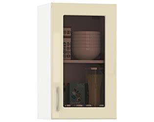 Купить шкаф Mobi Сандра 400 витрина, универсальная дверь
