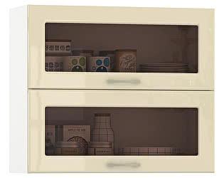 Купить шкаф Mobi Сандра 800 витрина горизонтальный 2 двери