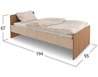 Купить кровать Moon Trade Кровать Мика 3 Модель 349