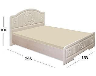 Купить кровать Moon Trade Волжанка 4 модель 517