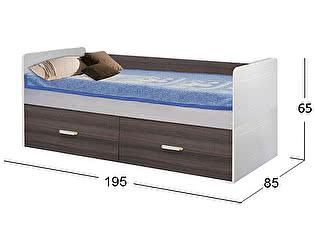 Купить кровать Moon Trade Скейт-5 высокая Модель 516