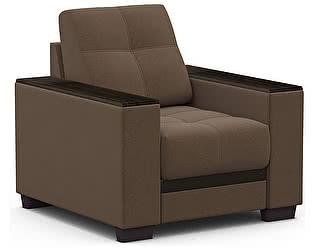 Купить кресло Moon Trade Атланта 066 тканевое, коричневое