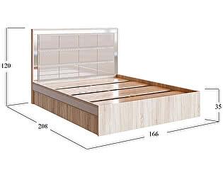Купить кровать Moon Trade София Fresh Модель 512, 160х200