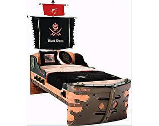 Купить кровать Cilek Black Pirate корабль