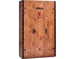 Купить шкаф Cilek Black Pirate 3-х дверный