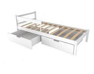 Купить кровать Бельмарко Детская кровать Бельмарко Skogen classic белый