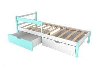 Купить кровать Бельмарко Детская кровать Бельмарко Skogen classic мятно-белый