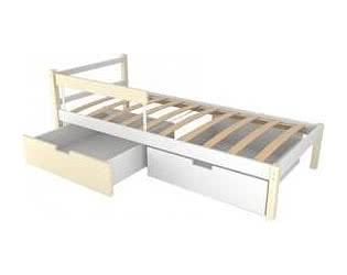 Купить кровать Бельмарко Детская кровать Бельмарко Skogen classic бежево-белый