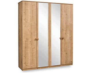 Шкаф 4-х дверный Cilek Mocha