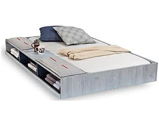 Купить кровать Cilek Выдвижное спальное место Trio с полочками 90х190