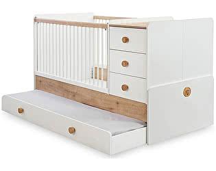 Купить кровать Cilek Natura Baby с выдвижным спальным местом